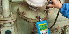 Analizador de ultrasonidos para vigilancia de maquinaria